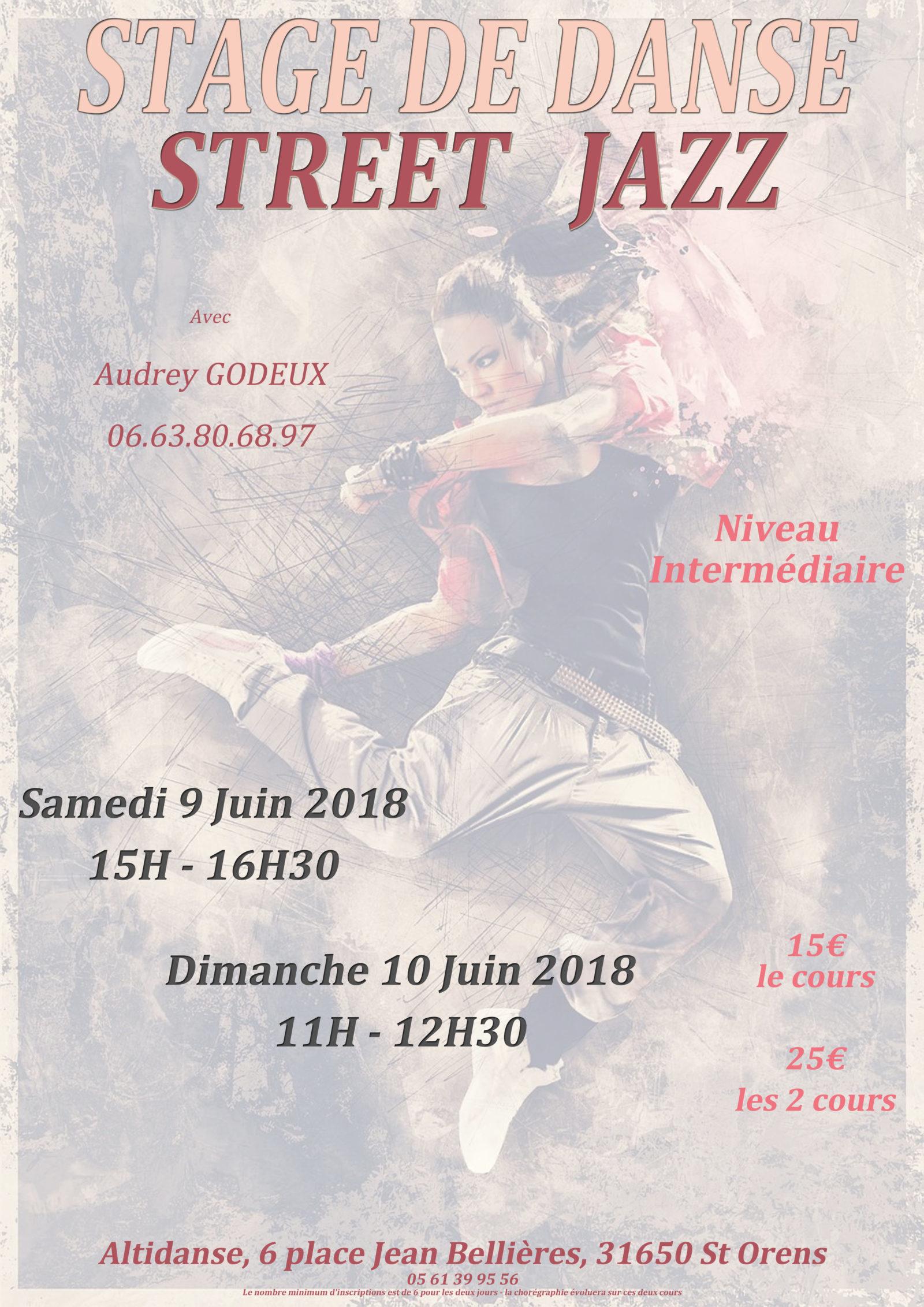 Stage de Danse STREET JAZZ